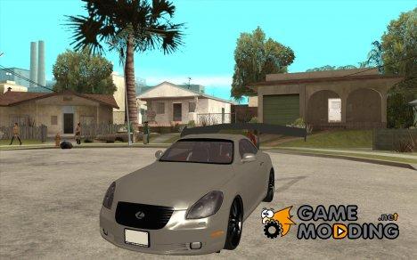 Lexus SC430 Daigo Saito for GTA San Andreas