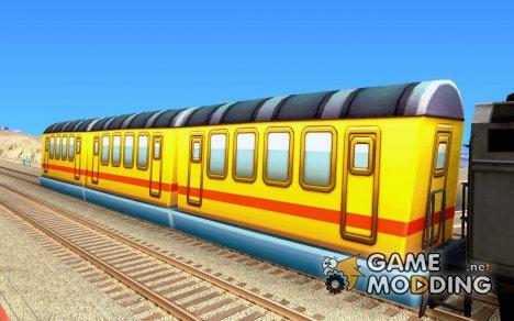 Пассажирский поезд 2 из Subway Surfers for GTA San Andreas