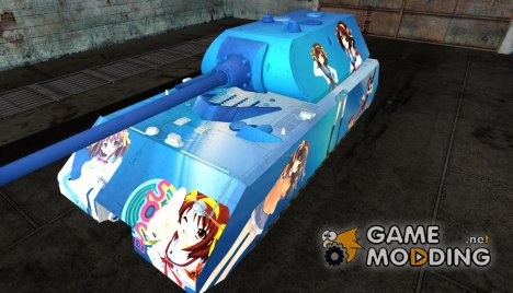 Шкурка Anime для Maus for World of Tanks