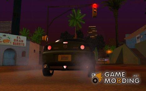Универсальные огни заднего хода для GTA San Andreas