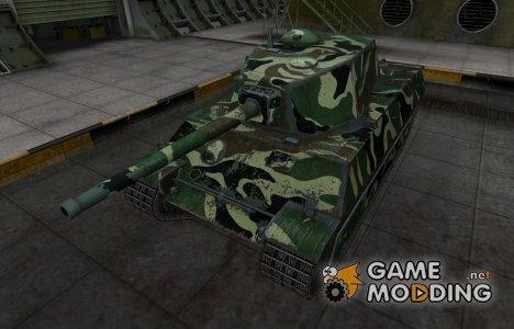 Скин с камуфляжем для AMX M4 mle. 45 for World of Tanks