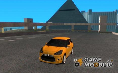 Citroen DS3 2010 for GTA San Andreas
