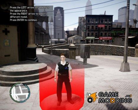 Женщина-полицейский for GTA 4
