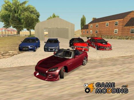 Новые гоночные машины для GTA San Andreas