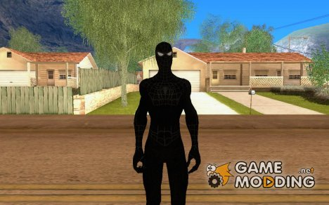 Spider-man Black for GTA San Andreas