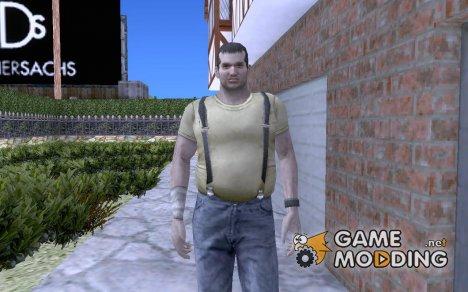 Кендо из resident evil: the darkside chronicles. for GTA San Andreas