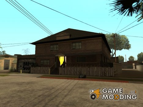 New CJ house GLC prod V 1.1 для GTA San Andreas