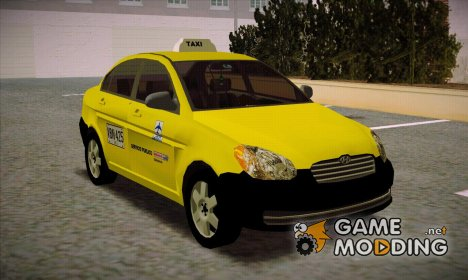 Hyunday Accent Taxi Colombiano for GTA San Andreas