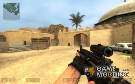 SL8 S.I.R.S M4 Hack for Counter-Strike Source