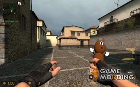 Cobalt's Mr.Hankey for Knife for Counter-Strike Source