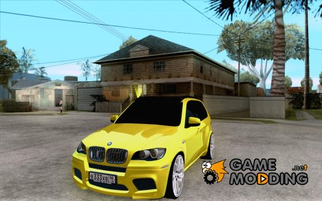 BMW X5M Gold Smotra v2.0 for GTA San Andreas