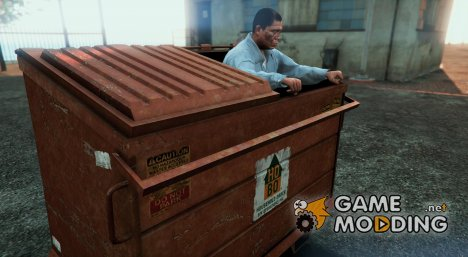 Badass Dumpster - Fun Vehicle  для GTA 5