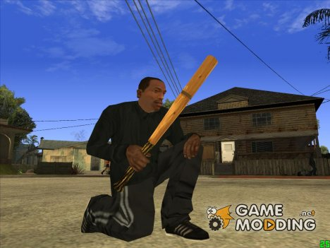Бейсбольная бита (Постапокалипсис) для GTA San Andreas