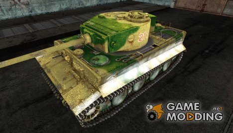 Шкурка для Tiger I для World of Tanks