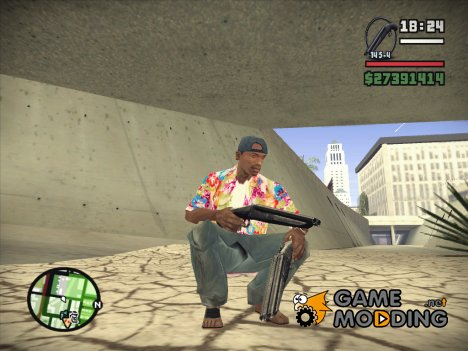 Новый Обрез для GTA San Andreas