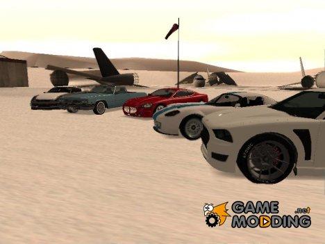 Пак машин из GTA 4 и GTA 5 от Donni для GTA San Andreas