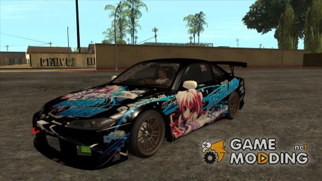 Nissan Silvia S15 - Itasha for GTA San Andreas