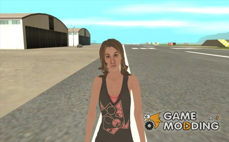 Tony Hawk's Emily for GTA San Andreas