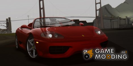 2000 Ferrari 360 Spider (US-Spec) for GTA San Andreas