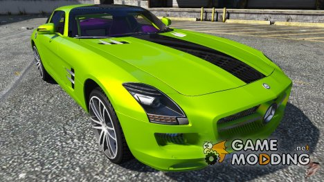2011 Mercedes-Benz SLS AMG Electric Drive 1.0 для GTA 5