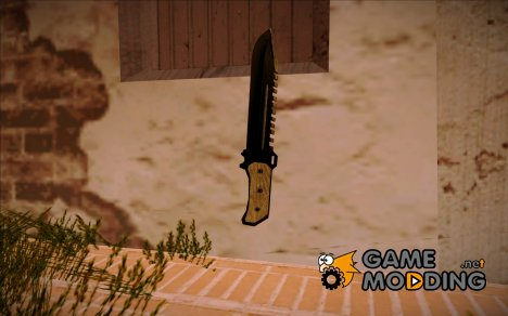Нож Вескера S.T.A.R.S. из RE 5 for GTA San Andreas
