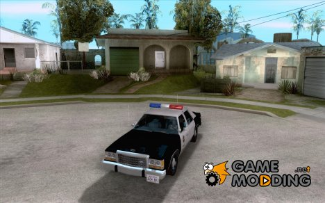 Ford LTD Crown Victoria Interceptor LAPD '85 for GTA San Andreas
