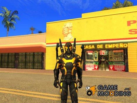 Марвел Битва Будущего Жёлтый жакет для GTA San Andreas