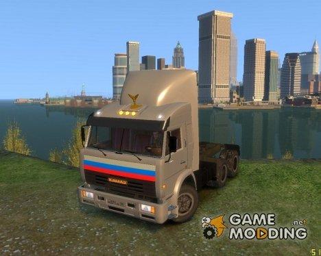 """КамАЗ 54115  """"Дальнобойщик"""" для GTA 4"""