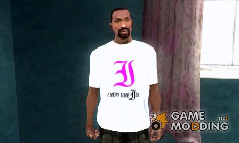 Everytime I Die T-Shirt for GTA San Andreas