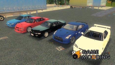 Пак машин Nissan for GTA 3