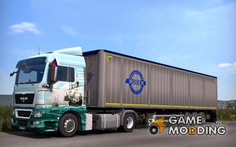 Bodex Trailer for Euro Truck Simulator 2