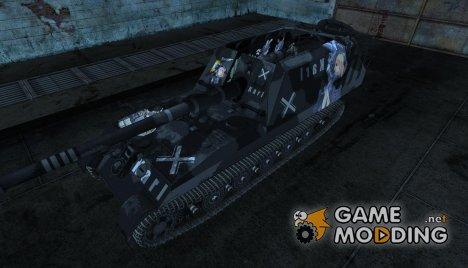 Аниме шкурка для Gw-Tiger для World of Tanks