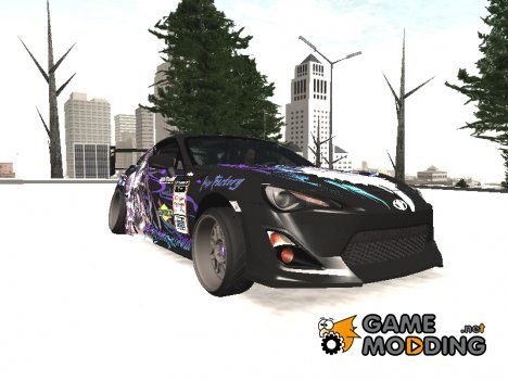 Toyota GT86 Yatogami Tohka Itasha для GTA San Andreas