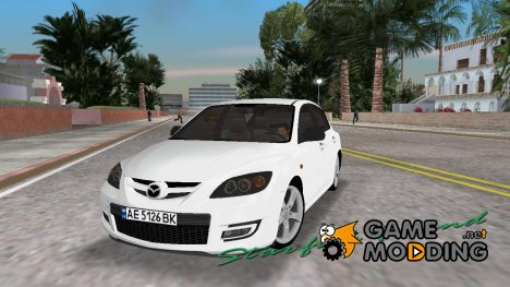 Mazda 3 for GTA Vice City