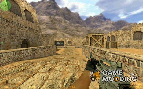 Black Solid M4A1 для Counter-Strike 1.6