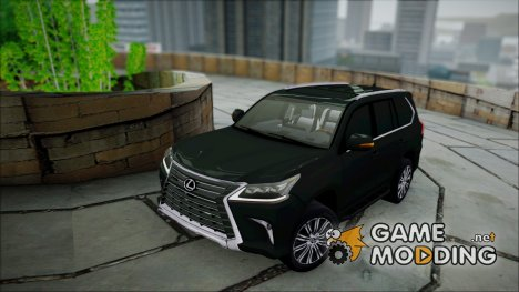 Lexus LX570 2016 for GTA San Andreas