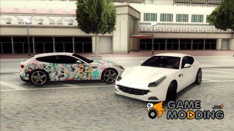 Ferrari FF 2012 - Miku Hatsune Itasha для GTA San Andreas
