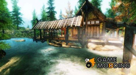 Домик в лесу для TES V Skyrim