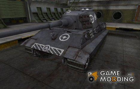 Зоны пробития контурные для E-75 для World of Tanks