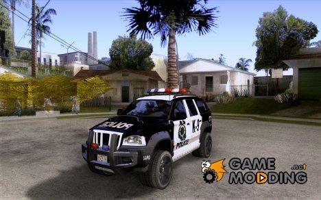 Jeep Grand Cherokee police K-9 for GTA San Andreas