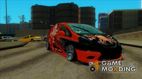 Honda Fit - Guilty Crown Itasha для GTA San Andreas