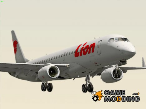 Embraer ERJ-190 Lion Air для GTA San Andreas