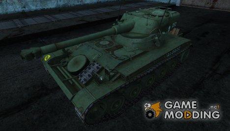 Шкурка для AMX 13 75 №24 for World of Tanks
