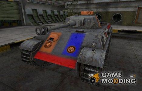 Качественный скин для PzKpfw V/IV for World of Tanks