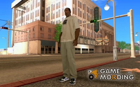 Nike Court Force High Air Max BW для GTA San Andreas