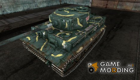 Шкурка для Tiger for World of Tanks