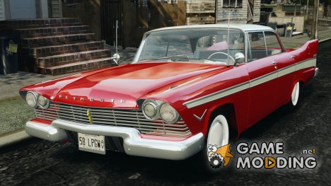 Plymouth Belvedere Sport Sedan 1957 [Final] для GTA 4