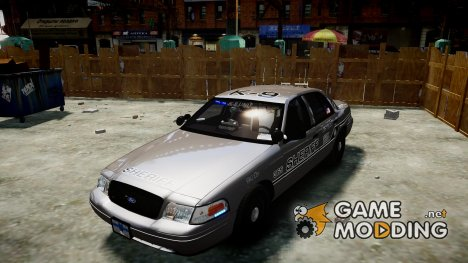 Ford Crown Victoria Sheriff K-9 Unit [ELS] for GTA 4