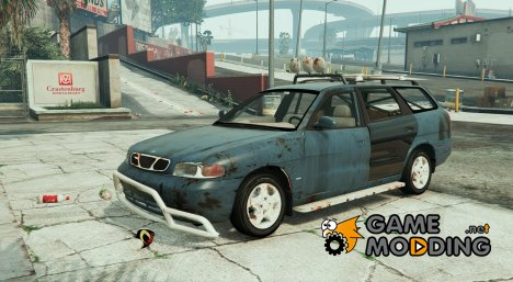 1999 Daewoo Nubira I Wagon CDX US Rusty Version для GTA 5