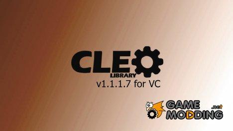 Библиотека CLEO v1.1.1.7 для GTA Vice City